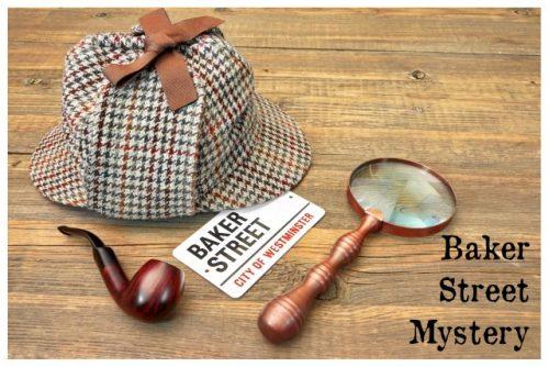 Baker Street Mystery Display Poster