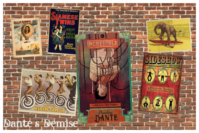 Dante's Demise Display poster