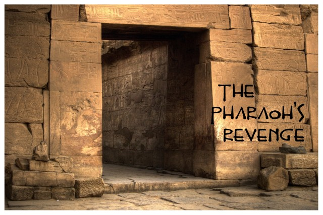 Pharaohs Revenge Display Poster